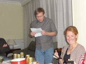 Jesse's toast...