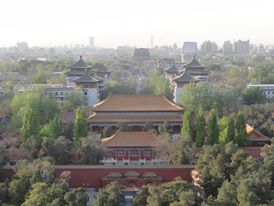 Finally - a view from Jingshan!