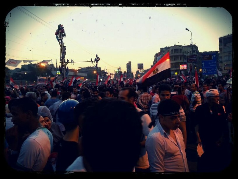 Tahrir, as photographed by an Egyptian friend