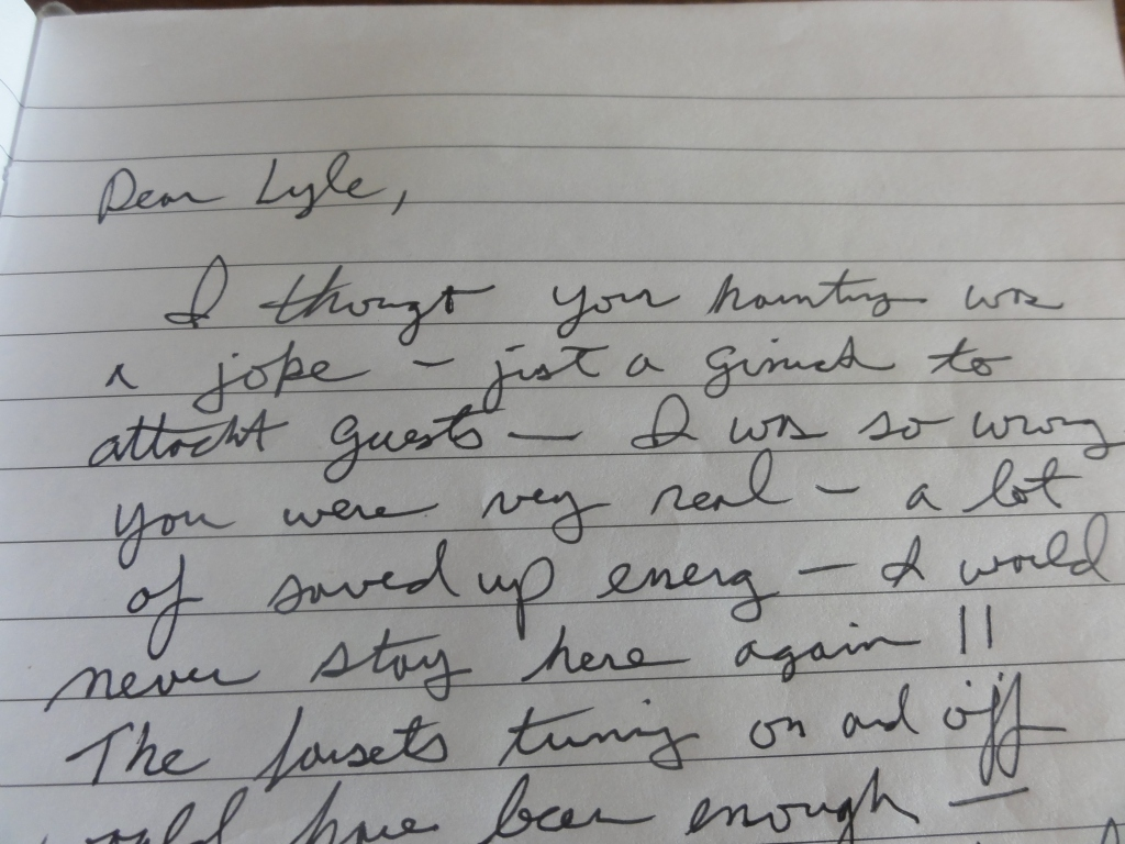 Notes from a traumatized visitor
