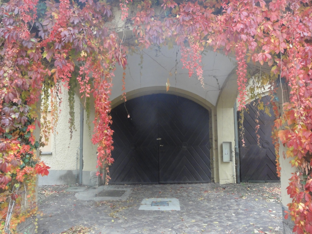 Entrance to one part of the castle