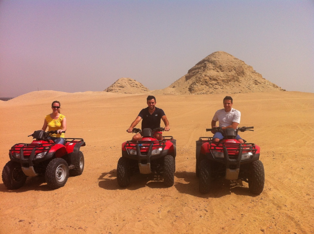 Quad biking + pyramids