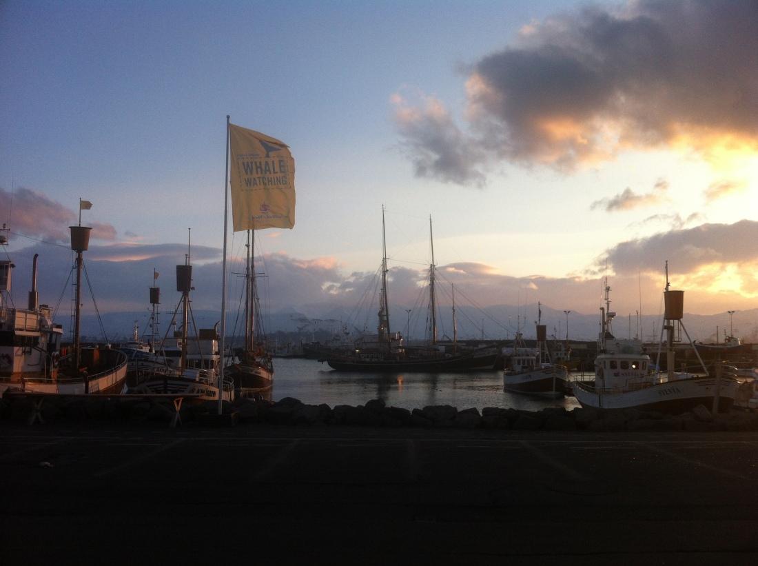 Another sunset in Husavik