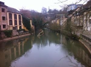 An especially picturesque canal