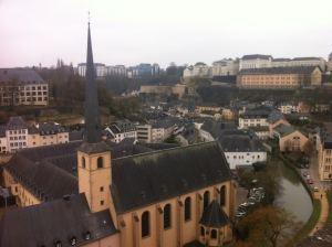 Luxembourg seems to like yellow
