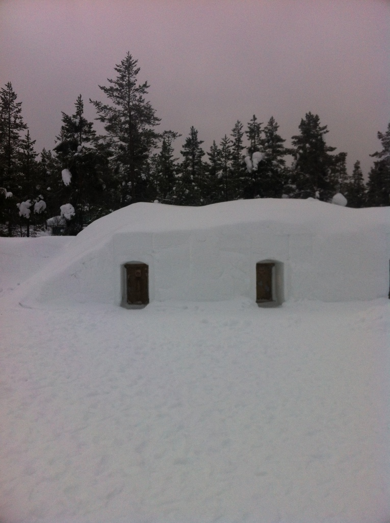 Snow igloos