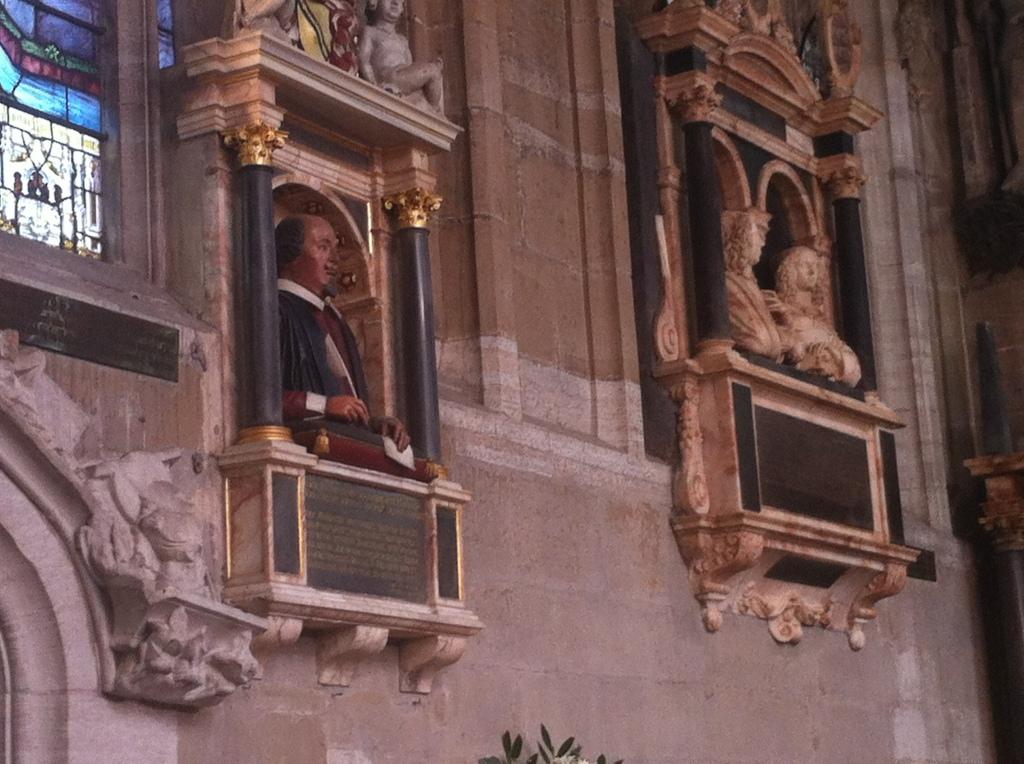 Shakespeare's bust
