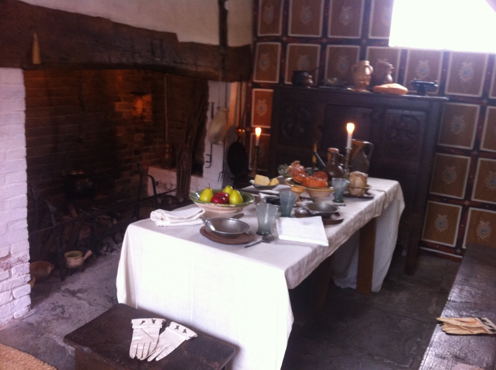 A 17th century feast in Shakespeare's kitchen