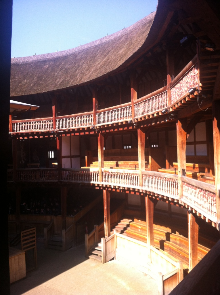 Interior of the Globe Theater