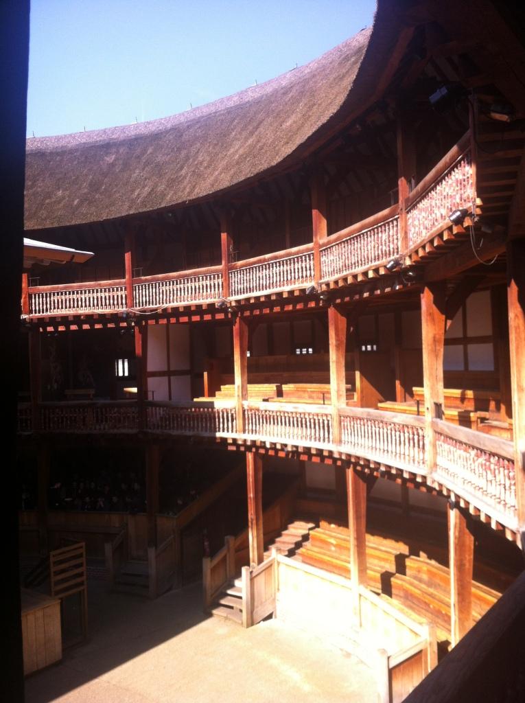 Interior of the Globe Theater