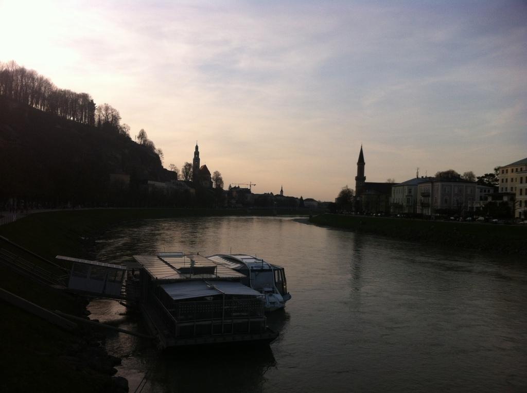 The Salzach River