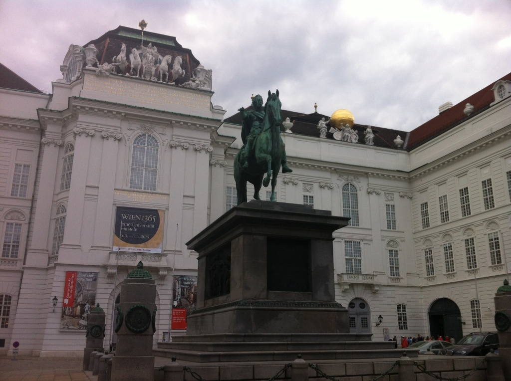 Obligatory man on horse statue