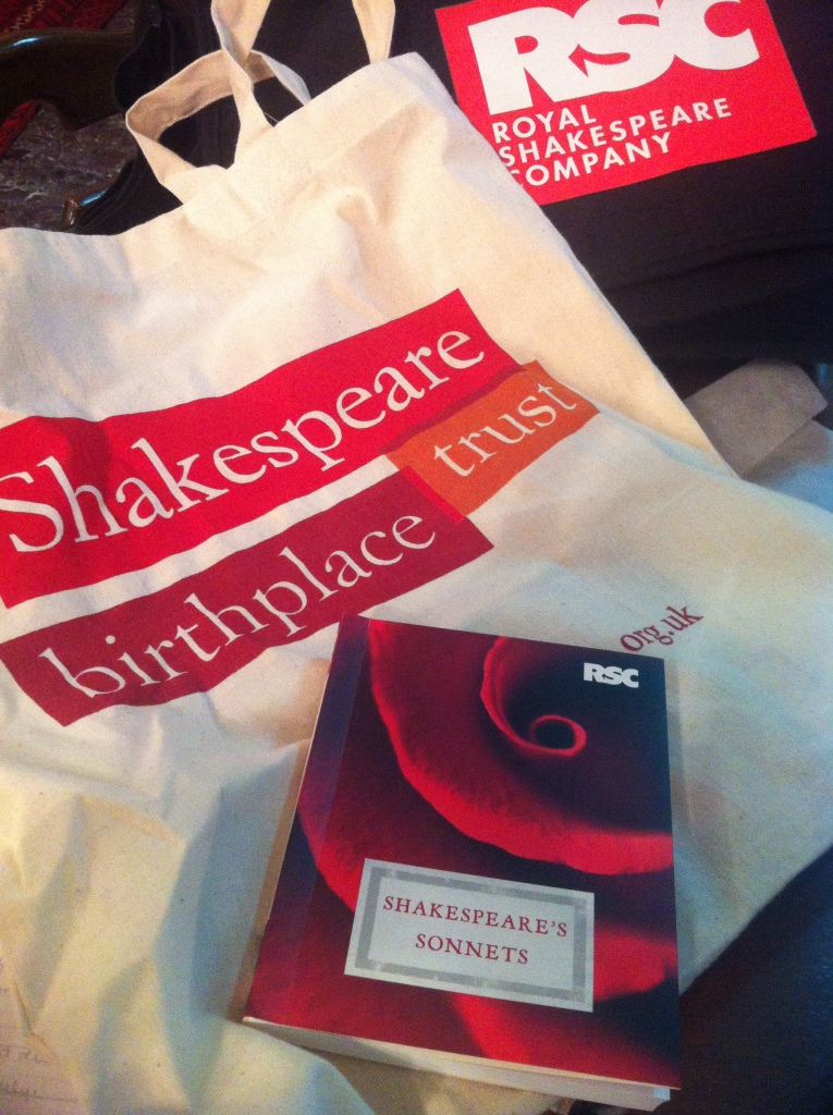 Stratford-upon-Avon is also a haven for English teachers because tote bags.