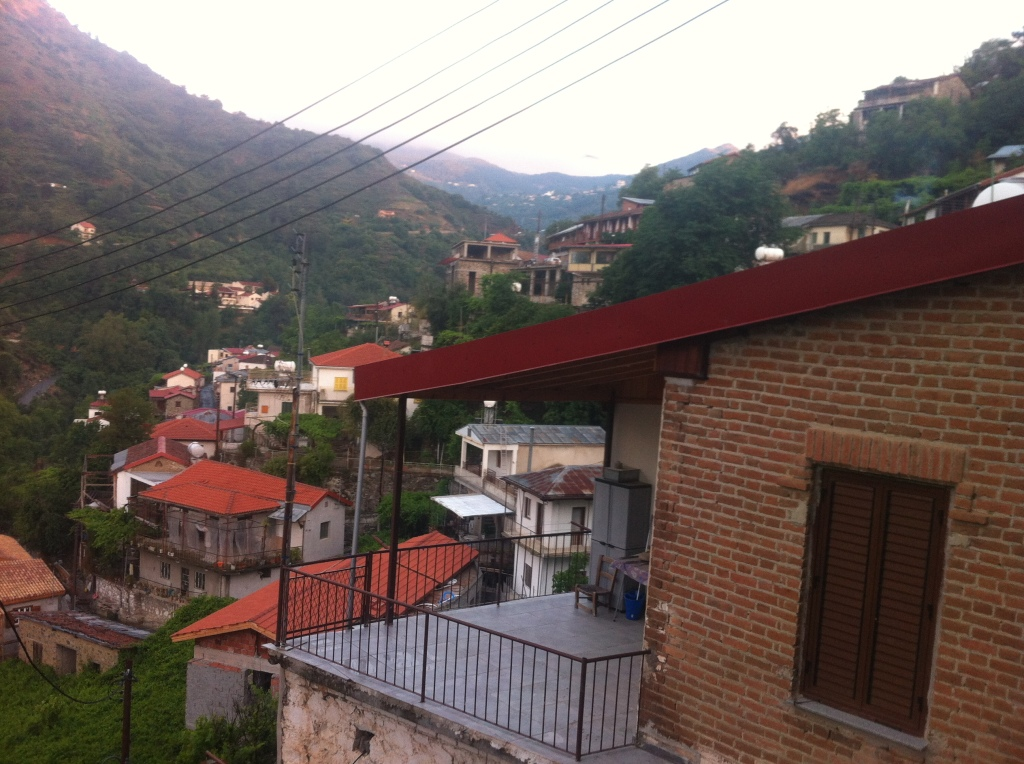 Loving the brick-colored roofs here in the mountains