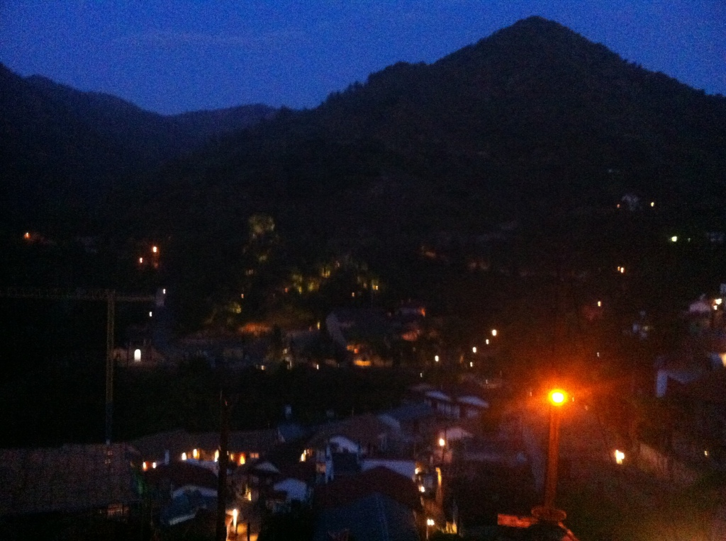 Kalopanayiotis at night