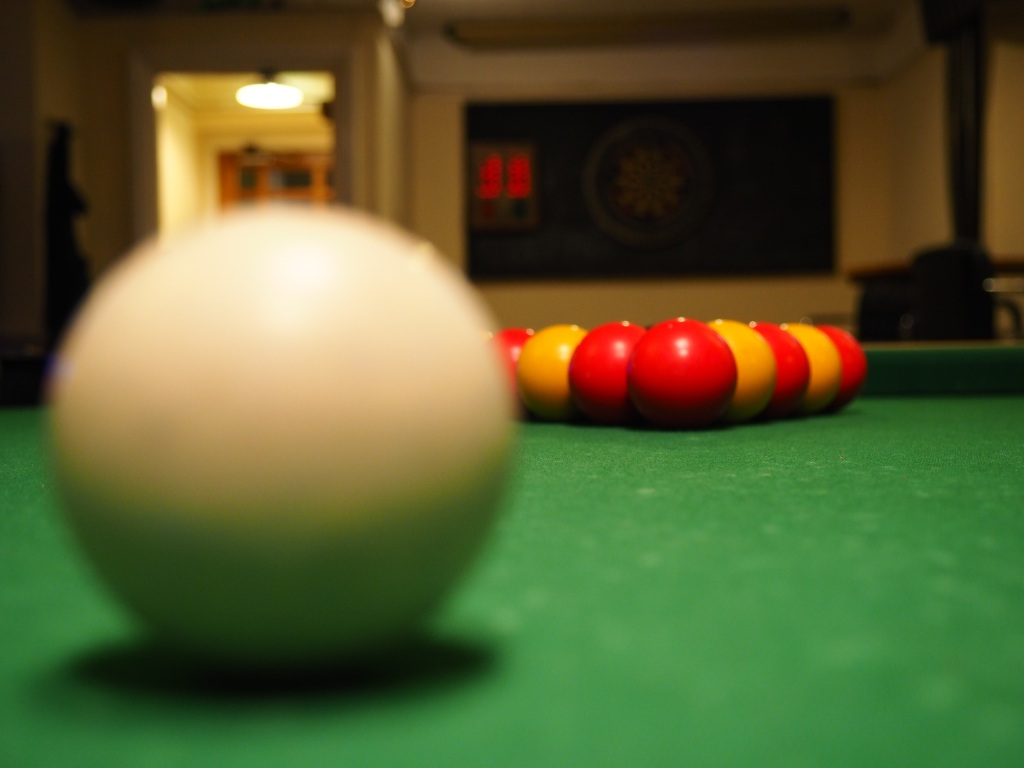 England simplifies the ball colors in pool.