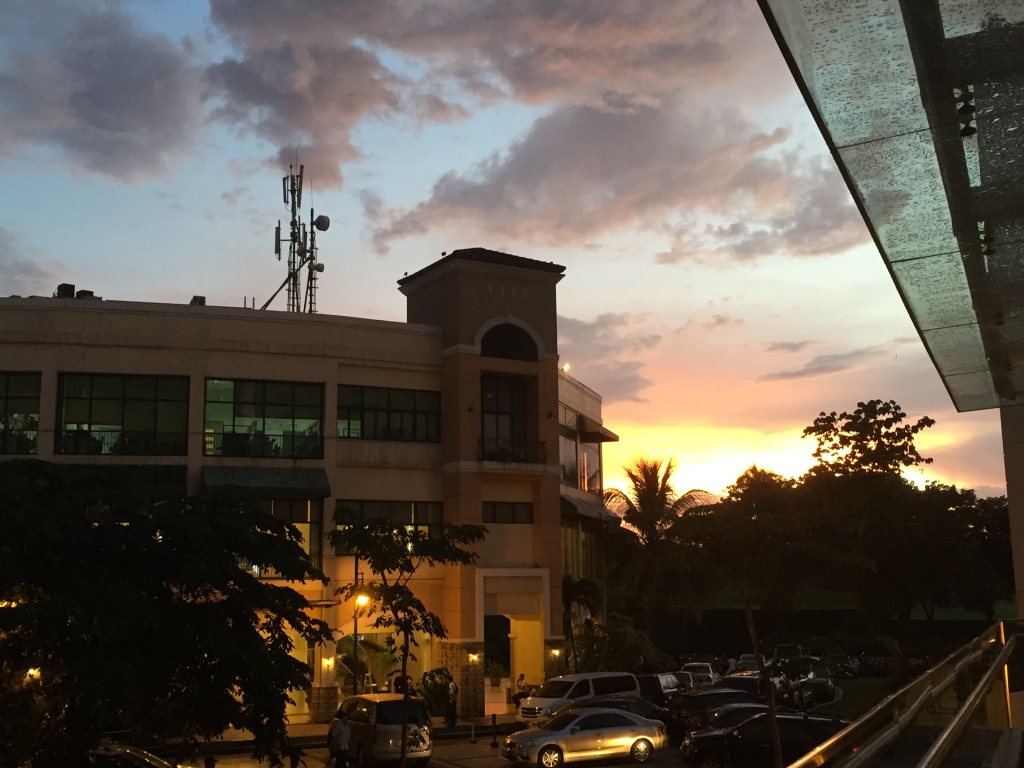 Another sunset, from a bar with a ton of expats.