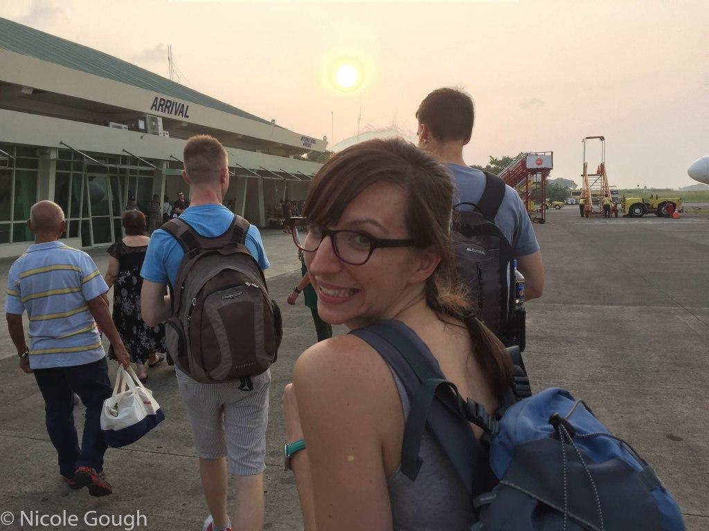 We finally make it to Puerto Princesa!