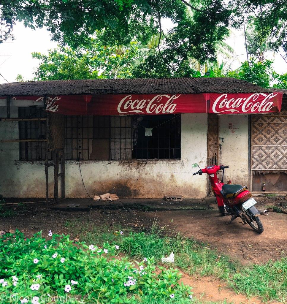 Coca Cola advertising is everywhere
