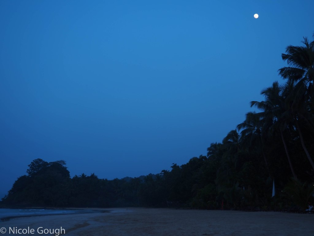 The moon over Sabang