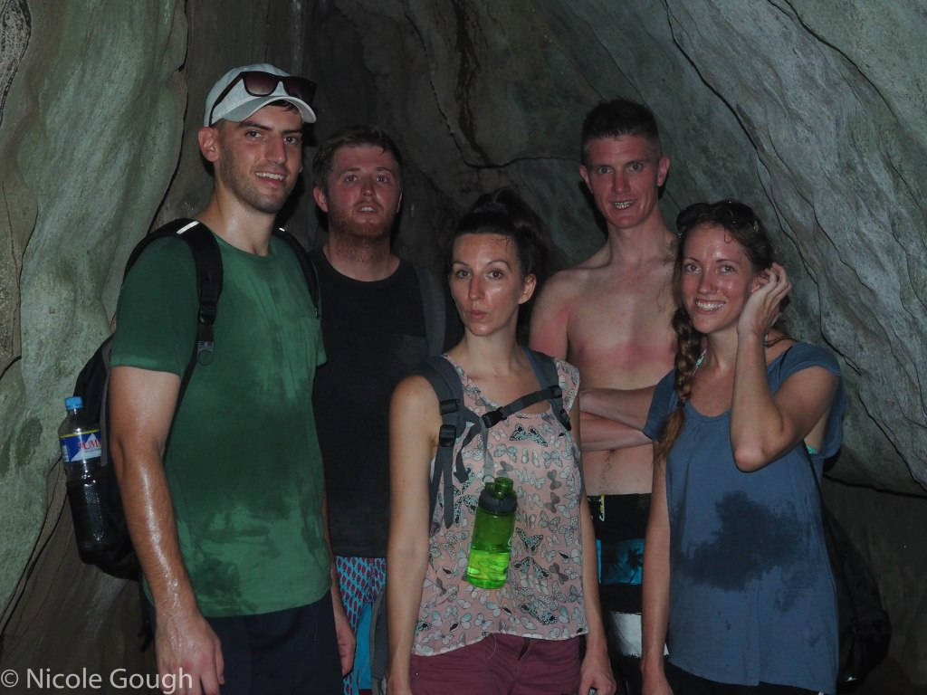 Join us in our really sweaty, stinky cave.
