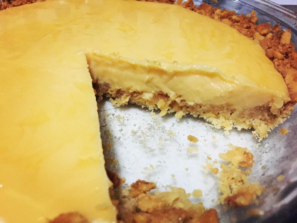 yellow pie