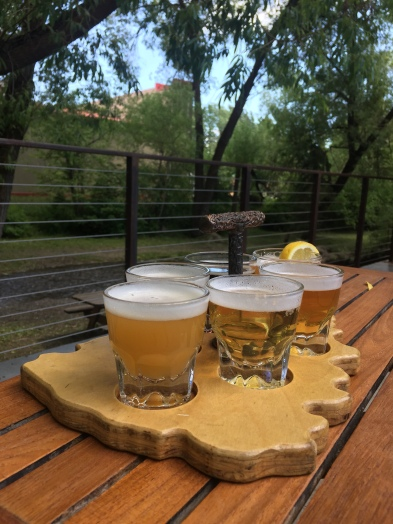 Creekside beer flight